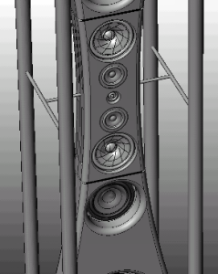 dipole-baffle-main-mounted-on-column-support